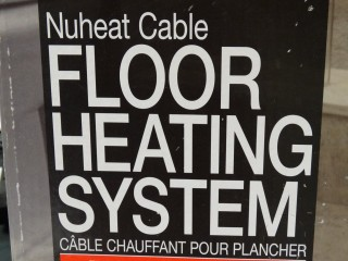 Nuheat Cable Floor Heating System